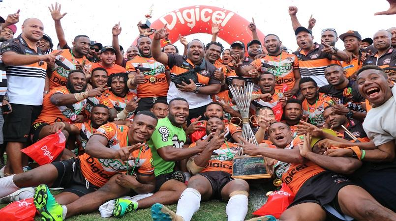 Tigers are 2017 Digicel Cup champions!.