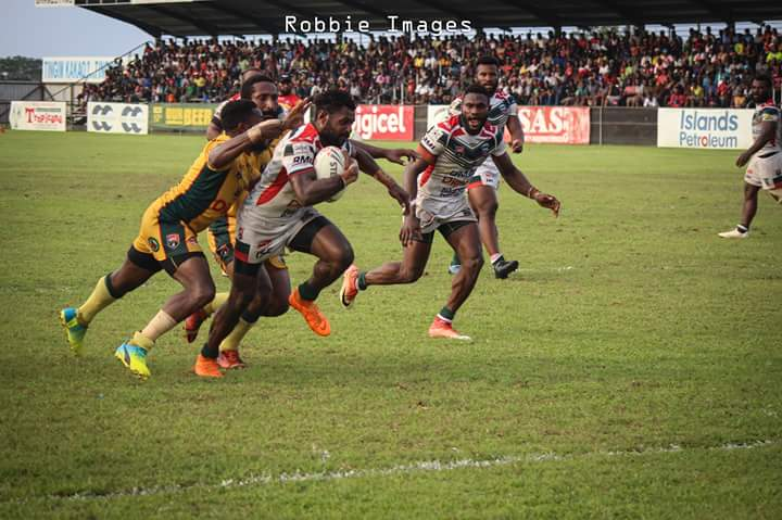 Lae defeat competition leaders in Digicel Cup.