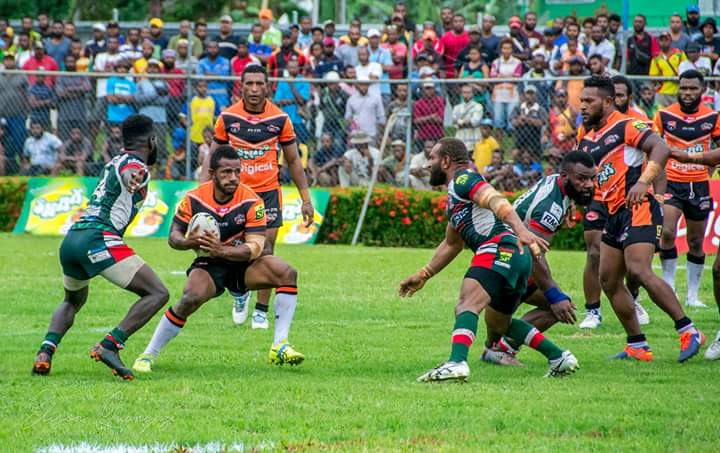 Lae Tigers record significant win in PNG Digicel Cup.