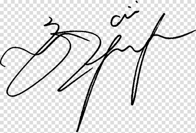 Signature illustration, Digital signature Autograph.