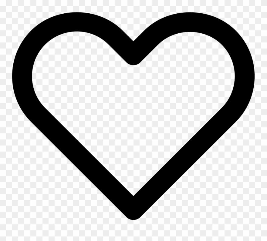 Heart Clipart Clipart Hollow Heart.
