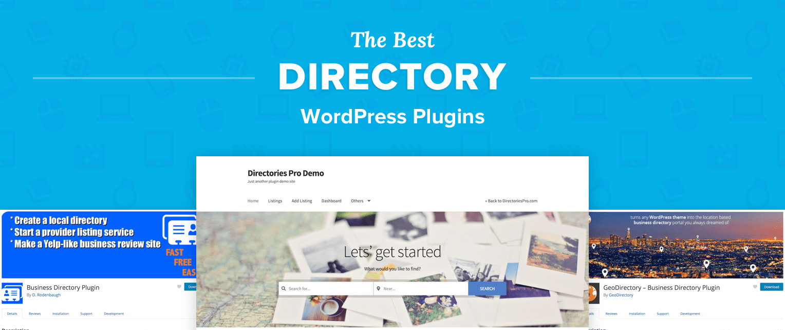 The 5 Best Directory WordPress Plugins for 2018.
