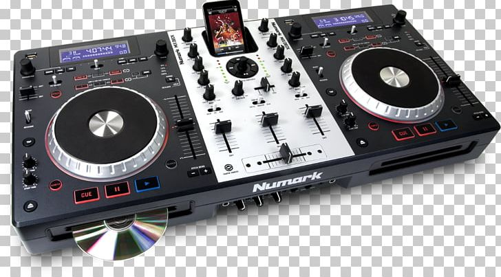 Disc Jockey Numark Industries Audio Mixers DJ Controller DJ.