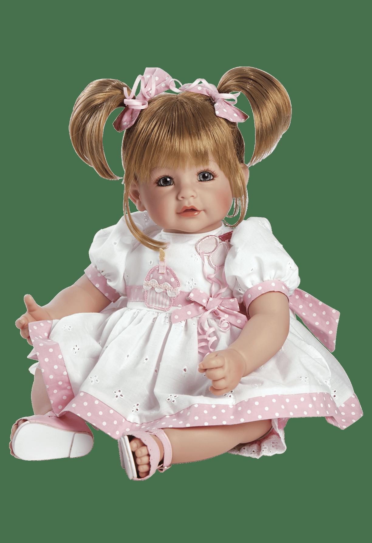 Adora Baby Doll Happy Birthday transparent PNG.