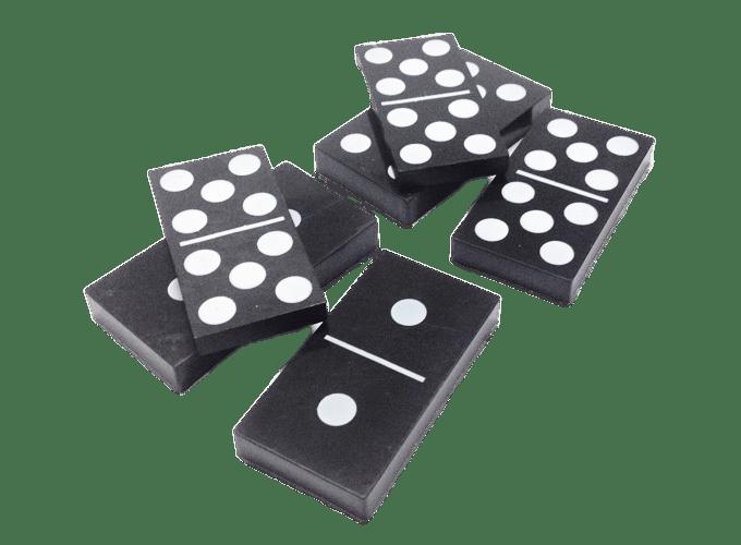 Domino Blocks transparent PNG.