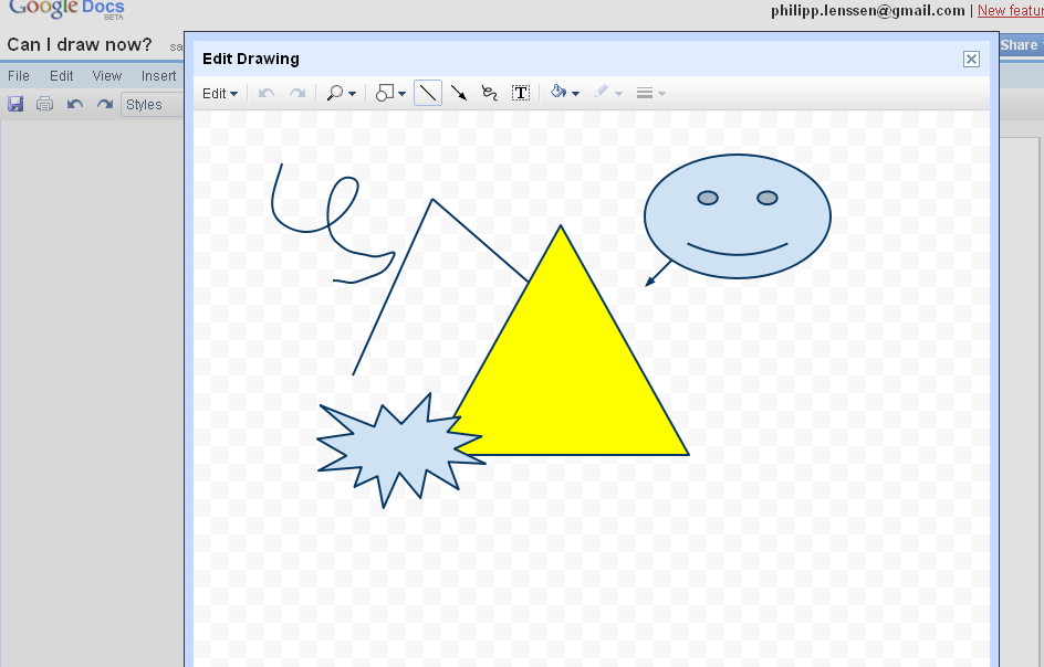 Google Docs Gets a Drawing Program.
