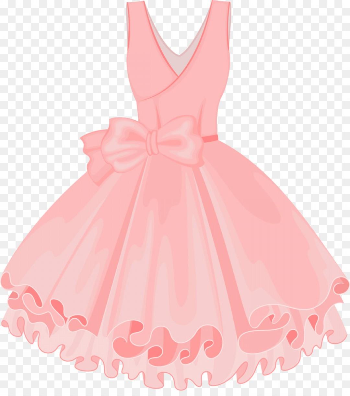 Png Skirt Tutu Dress Vector Painted Pink Tutu.