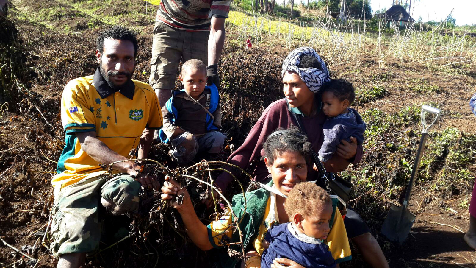 In pictures: Papua New Guinea\'s developing food crisis.