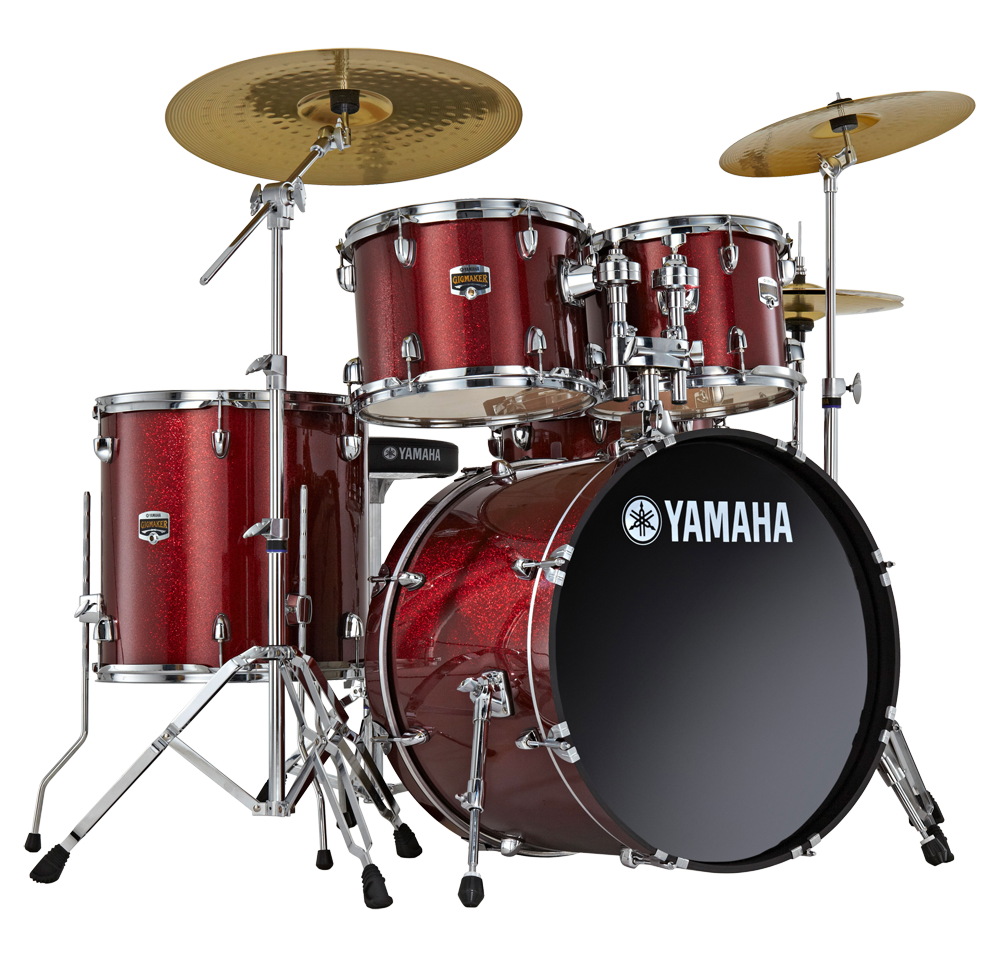 Yamaha Drums Kit PNG Image.