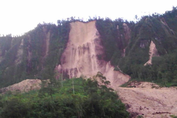 Powerful earthquake hits Papua New Guinea.