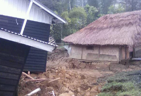 Further destruction in PNG\'s Hela after latest major.