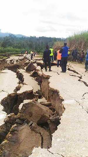 Update: PNG Earthquake Emergency · Emergencies · Anglican.