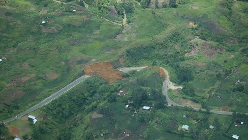 Strong 6.8 earthquake hits off Papua New Guinea.