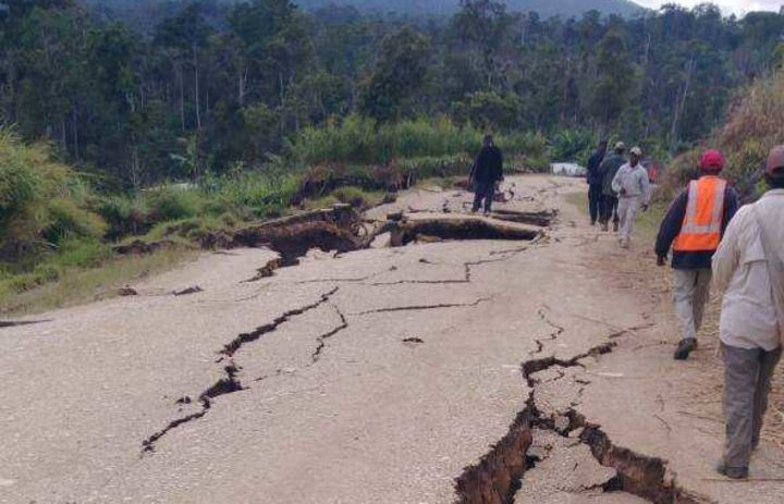 Road repairs after PNG quake to cost over $US12m.
