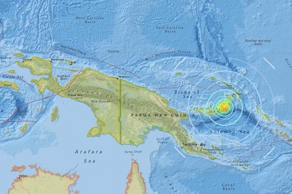 Papua New Guinea earthquake: Tsunami warnings after 6.9.