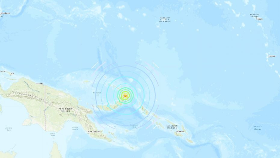 Tsunami alert issued after strong earthquake strikes Papua.