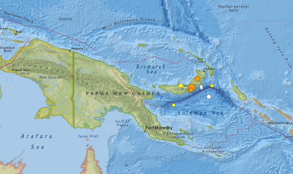 Papua New Guinea earthquake: TSUNAMI warning issued after.