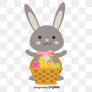 Easter Bunny PNG Images.