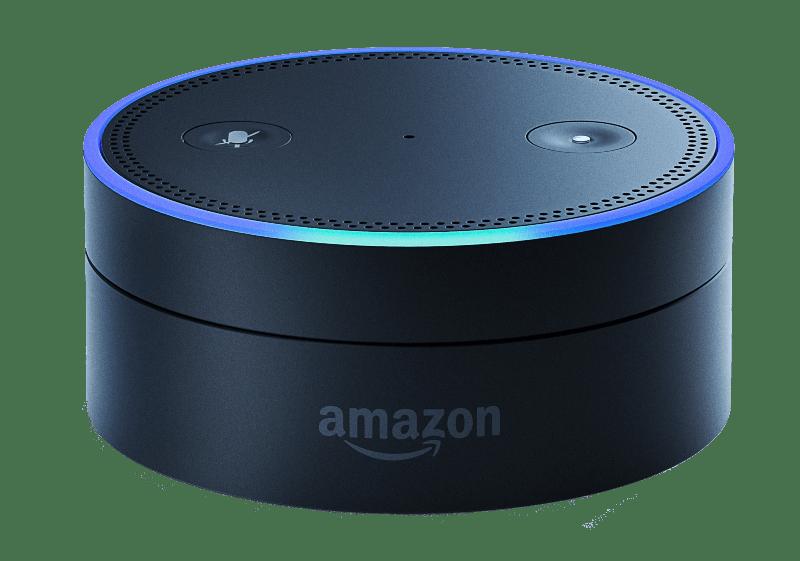 Amazon Echo transparent PNG.