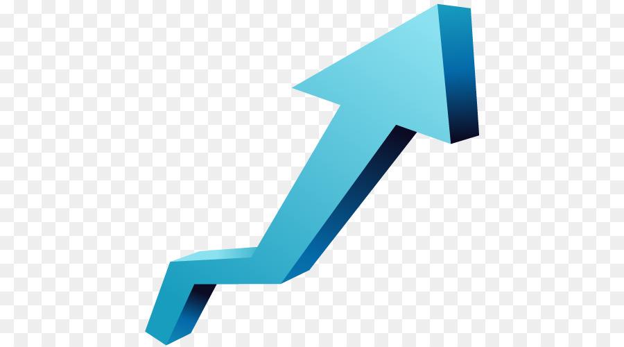 Economic Arrow png download.