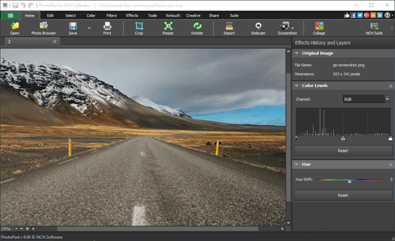 Photo Editor Software to Easily Edit Digital Images. Free.