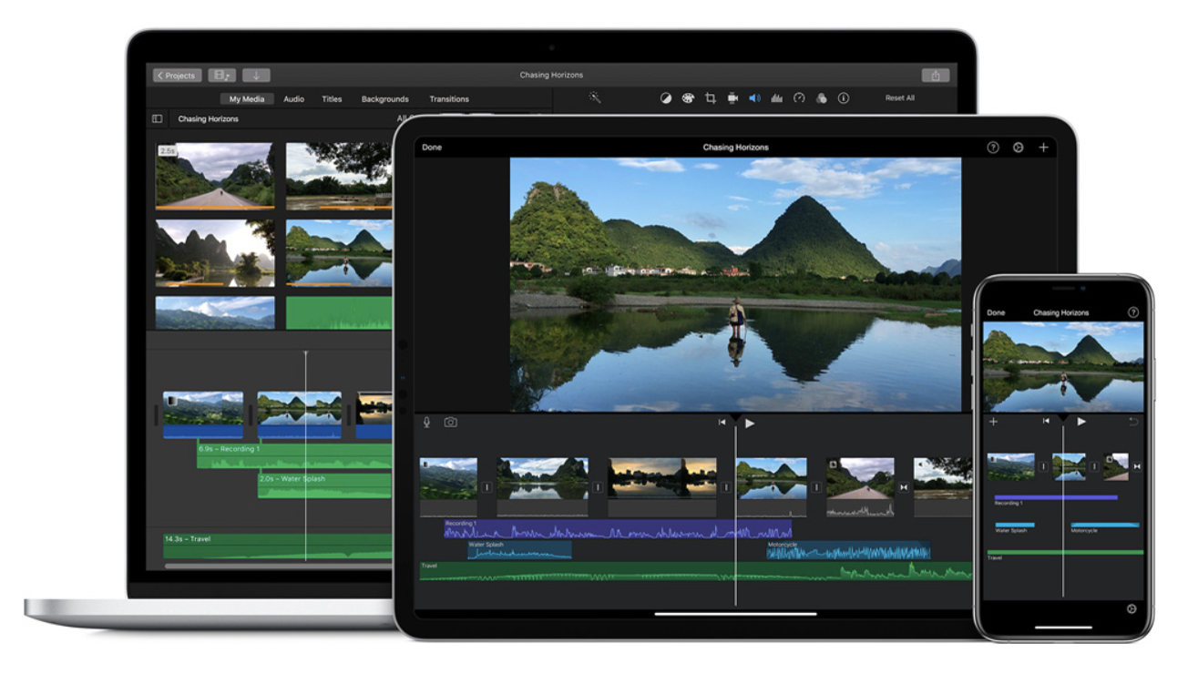 Best free or inexpensive Mac video editors: iMovie.