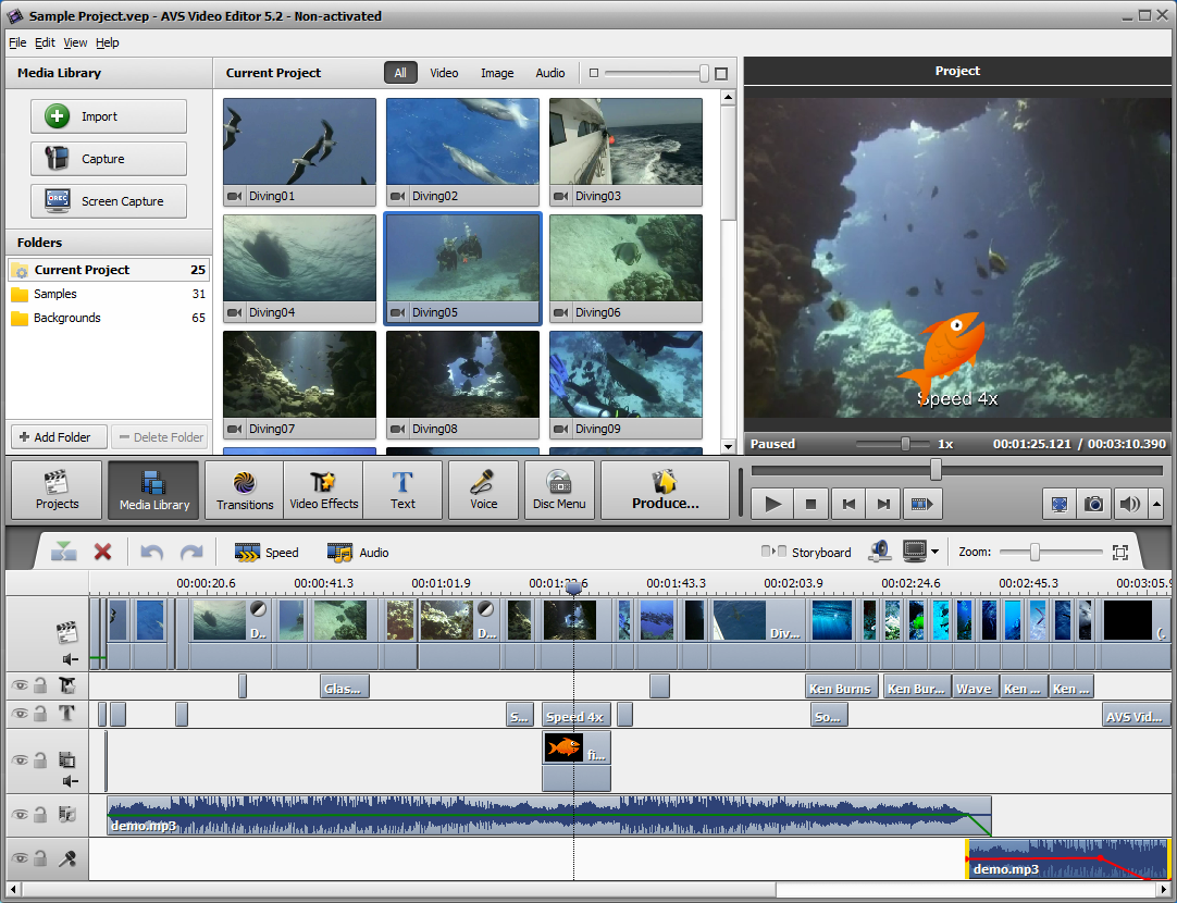 AVS Video Editor 9.1.1.336 free download.