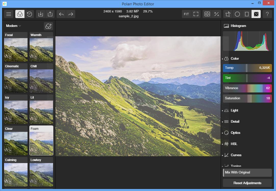 Polarr Photo Editor Free 1.0.0 free download.