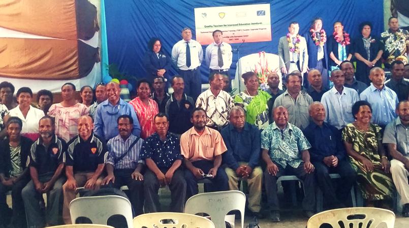 PNGEI starts teacher upgrading program.