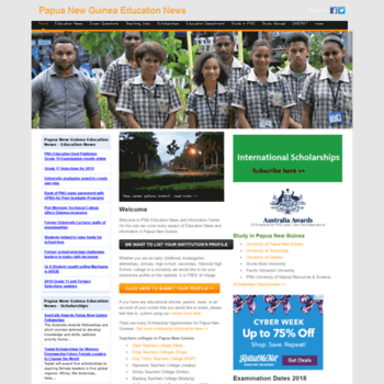 edu.pngfacts.com at WI. Papua New Guinea Education News.