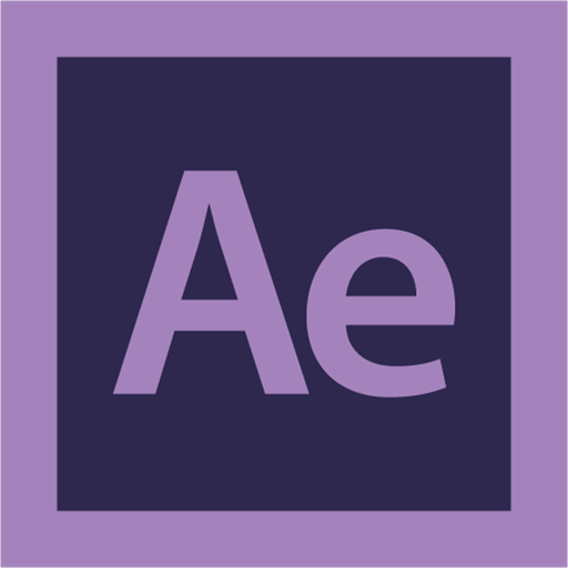 Adobe, after effect, logo icon.
