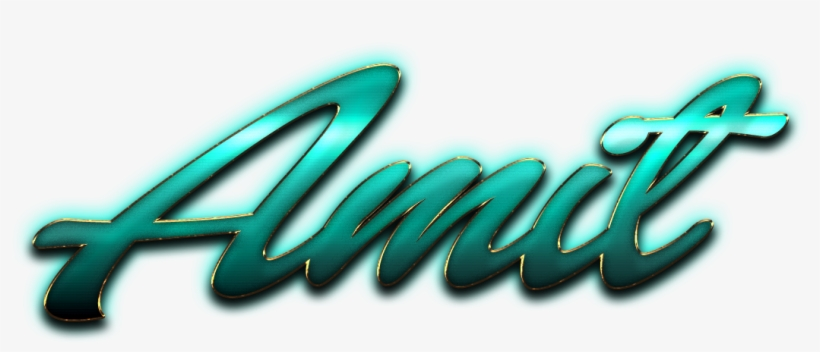 Amit Name Png Ready.
