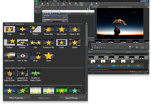 Video Editing Software. Free Download. Easy Movie Editor..