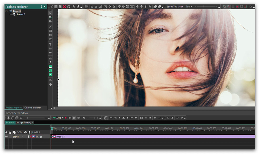 How to add effects to videos and images in VSDC Free Video.
