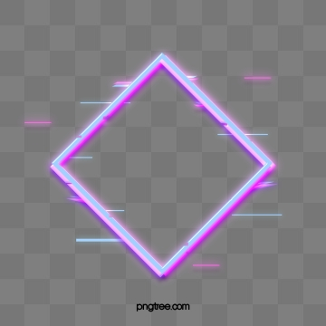 Neon Effect PNG Images.