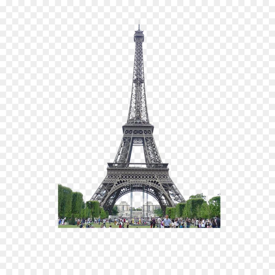 Eiffel Tower Arc De Triomphe Champ De Ma #335442.