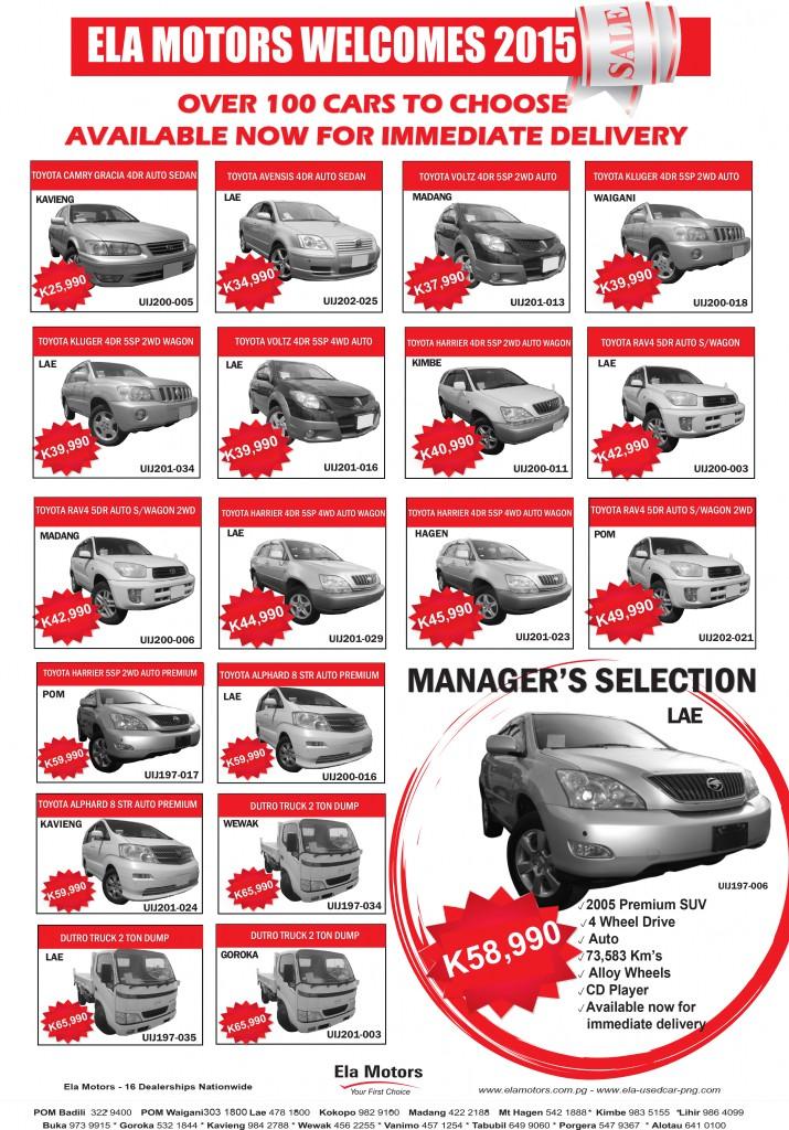 3 Beautiful Ela Motors Used Car Sales.