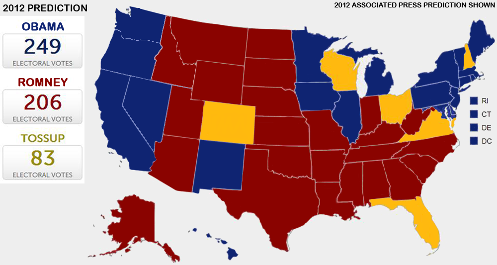 Presidential Election 2012 results, information, and live.