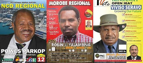 PNG Election 2012 Candidate List.
