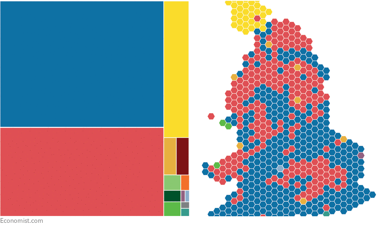 Britain\'s general election 2017: the results.