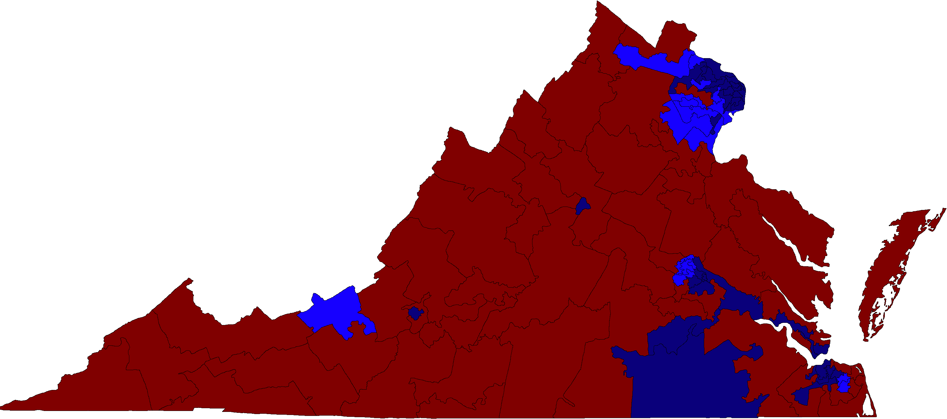 File:Virginia House of Delegates election results map 2017.