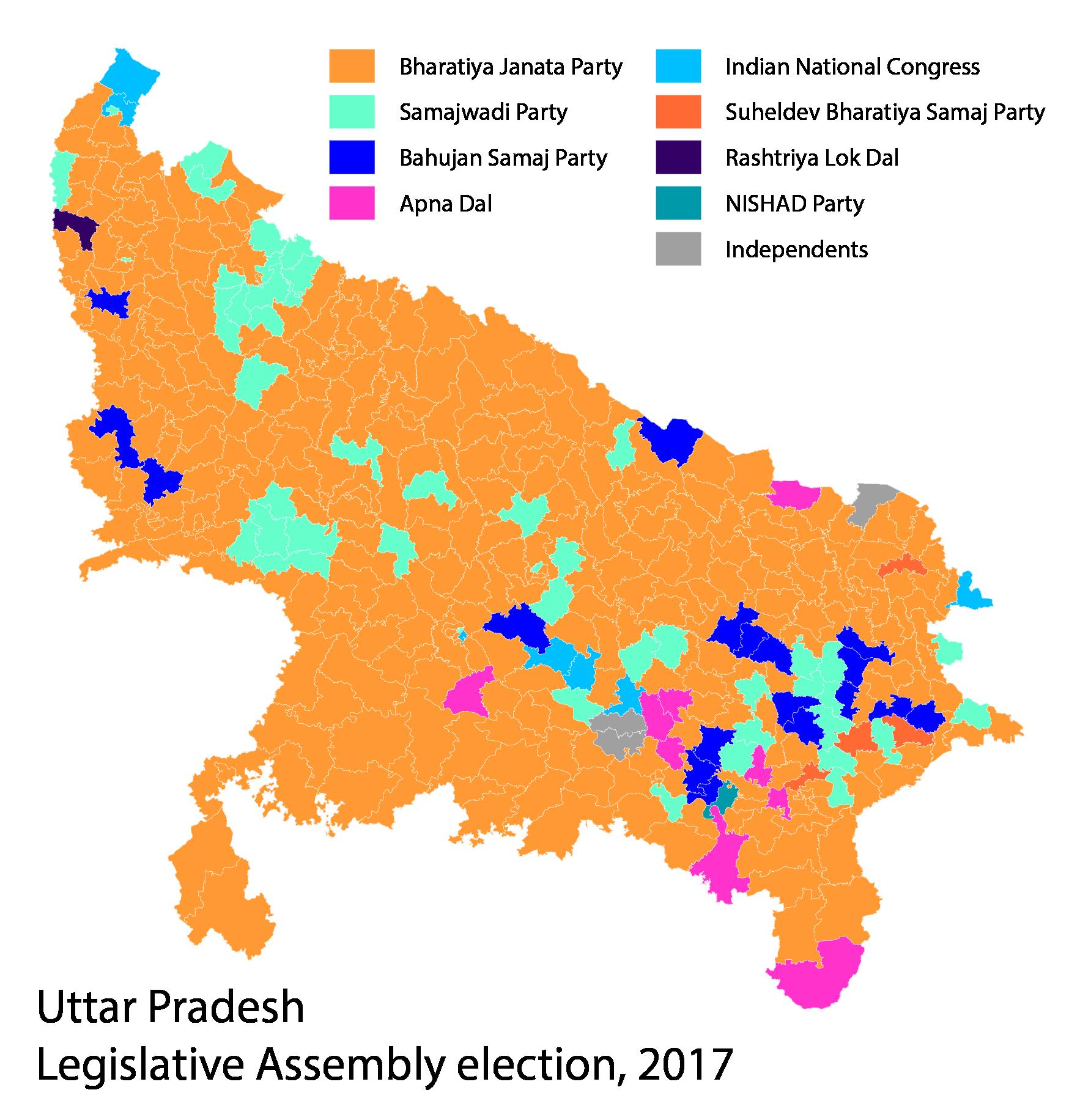 2017 Uttar Pradesh Legislative Assembly election.