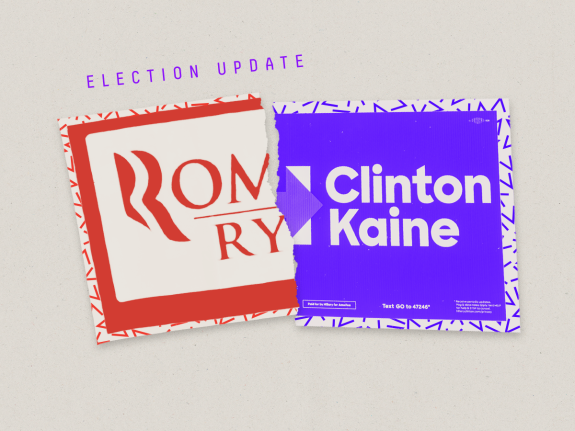 Election Update: Democrats\' Chances In The 13 Romney.