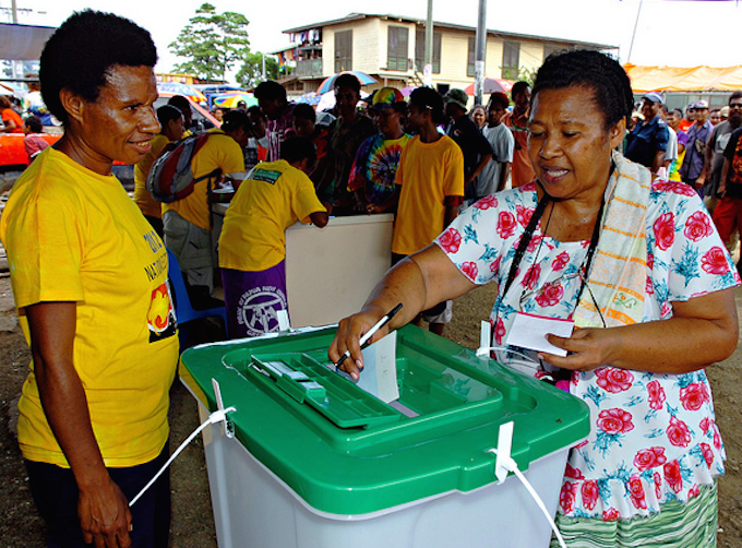 Anticipation, excitement\' sweep PNG as election polling.