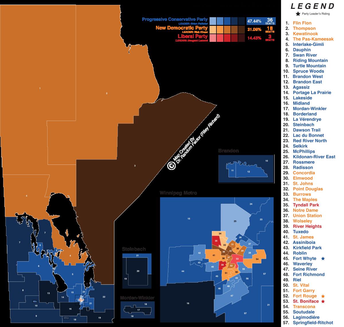 2019 Manitoba general election.