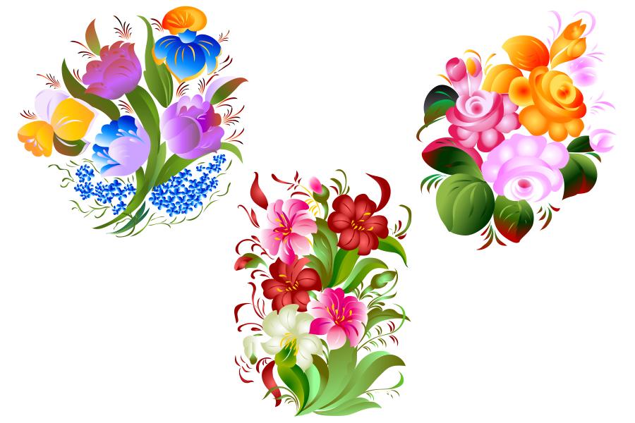 SVG and PNG files, Floral Design, Clipart, Vector, SVG, PNG, Elements (sv).