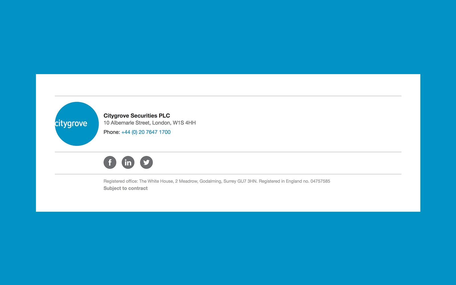 Email signature design — Designbooth.
