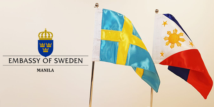 Sweden Reopen Its Embassy in Manila.