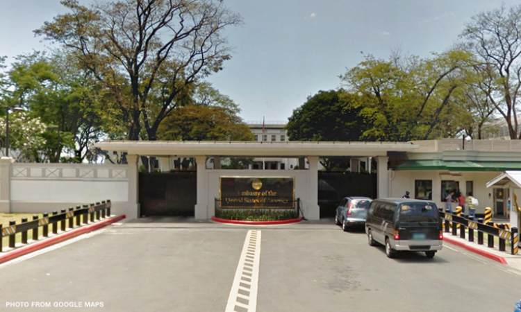 U.S. Embassy warns citizens vs. travel to central Philippines.
