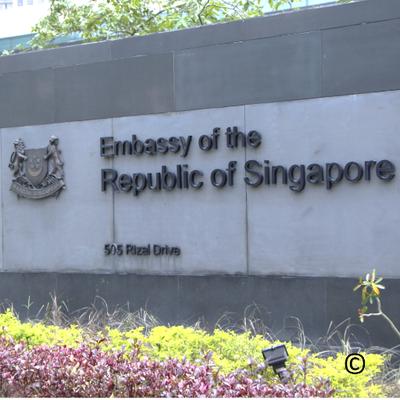 Singapore Embassy (@SingaporeEmbMNL).